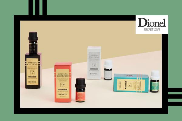 Bốn mùi hương đang có mặt trên thị trường của nước hoa vùng kín Dionel Secret Love