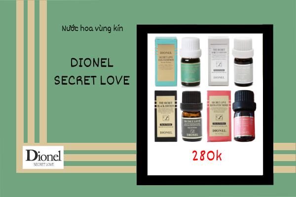 Giá bán trên thị trường của Dionel Secret Love