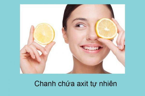 Chanh chứa rất nhiều vitamin C – một chất chống lão hóa quan trọng