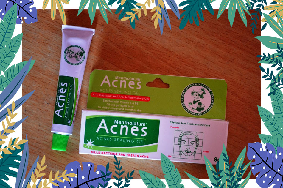 Acnes Sealing Jell review