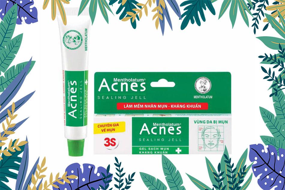 Acnes gel trị mụn được xem là Best seller trong số những dòng sản phẩm trị mụn do Acnes sản xuất