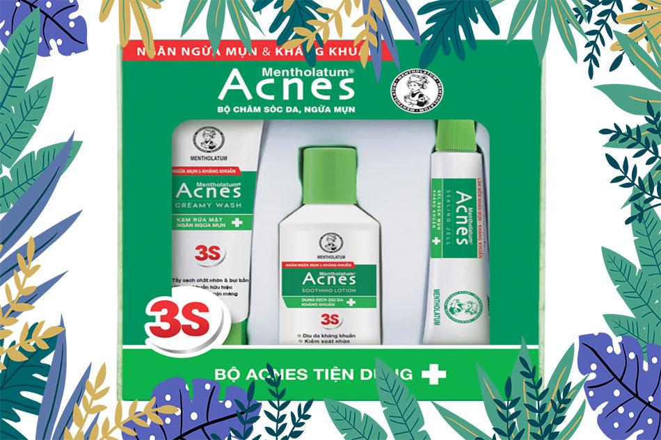 Acnes gel trị mụn