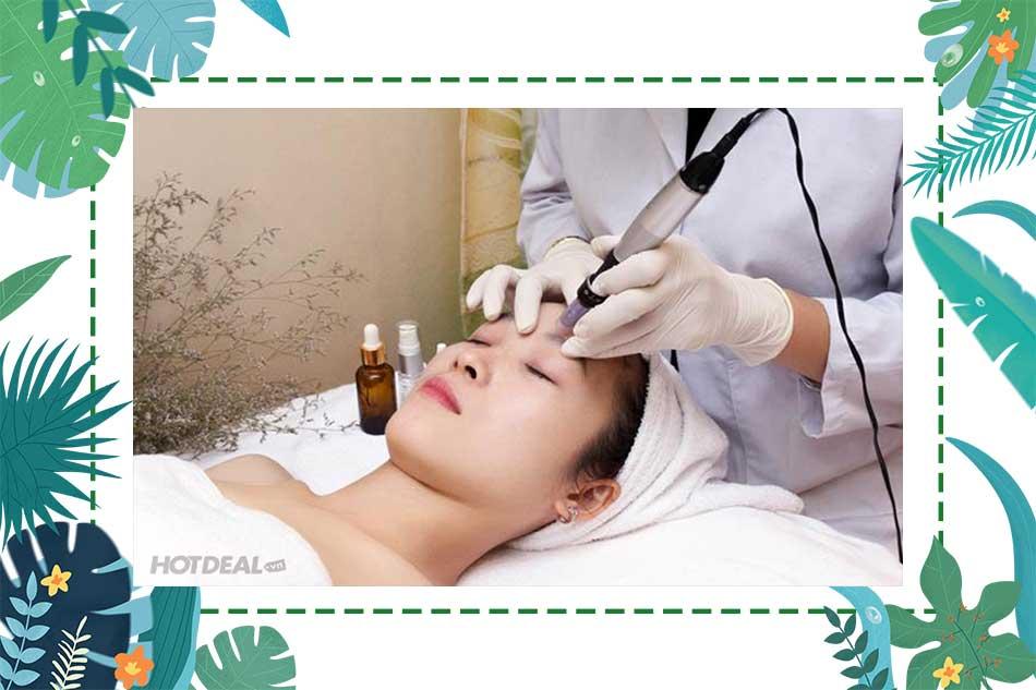 Hướng dẫn chăm sóc da tại nhà sau phi kim