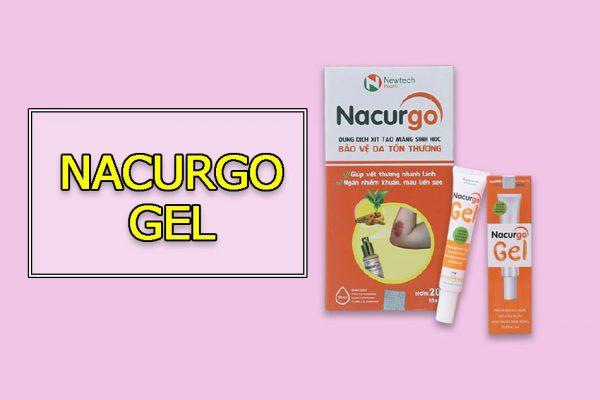 Thuốc trị mụn Nacurgo Gel