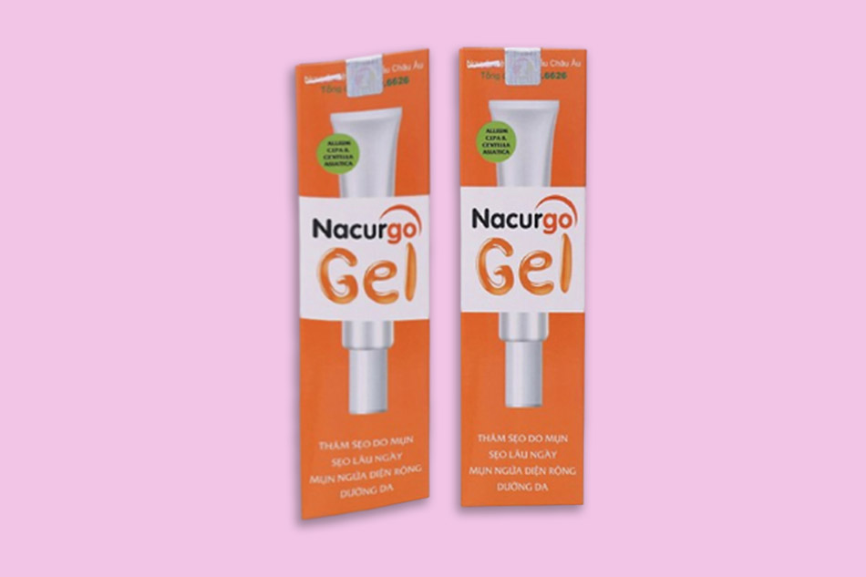 Chống chỉ định khi sử dụng kem Nacurgo Gel trị mụn sẹo