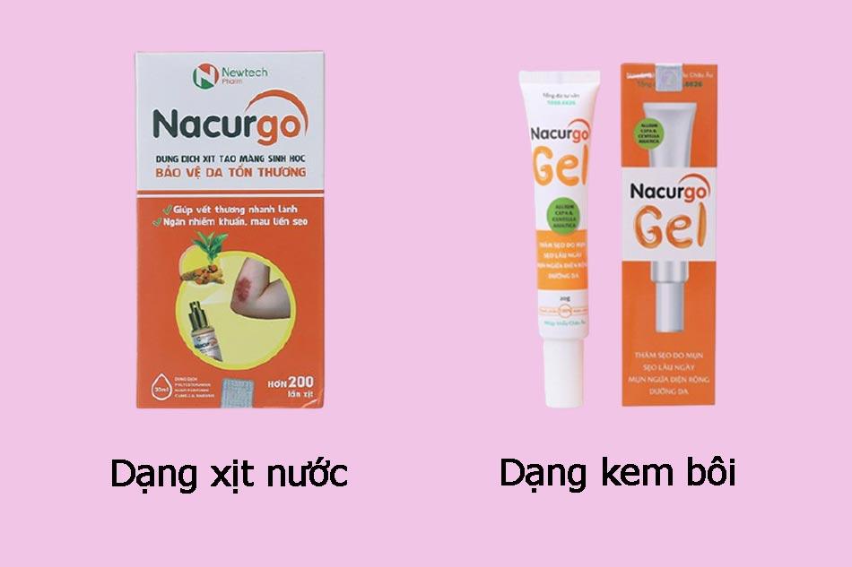 Thuốc trị mụn Nacurgo Gel là gì?