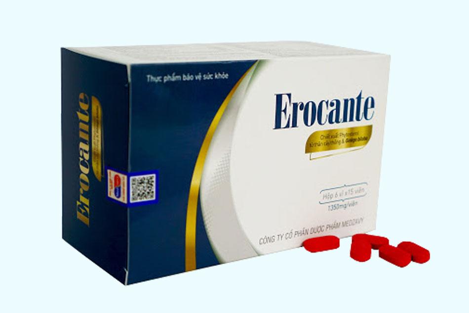 Viên uống Erocante giá bao nhiêu?