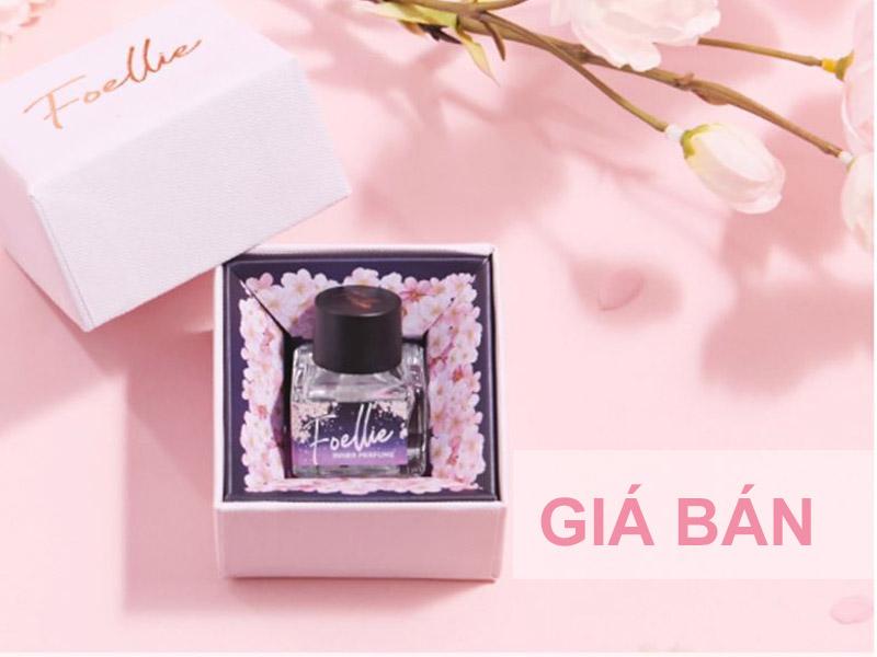 6.Nước hoa vùng kín Foellie Eau De Cherry Blossom Inner Perfume 5ml giá bao nhiêu?