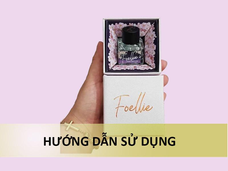 Hướng dẫn sử dụng nước hoa vùng kín Foellie Eau de Cherry Blossom Inner Perfume 5ml
