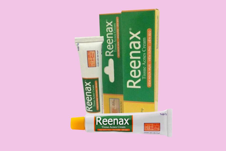 Lưu ý khi sử dụng kem trị mụn Reenax