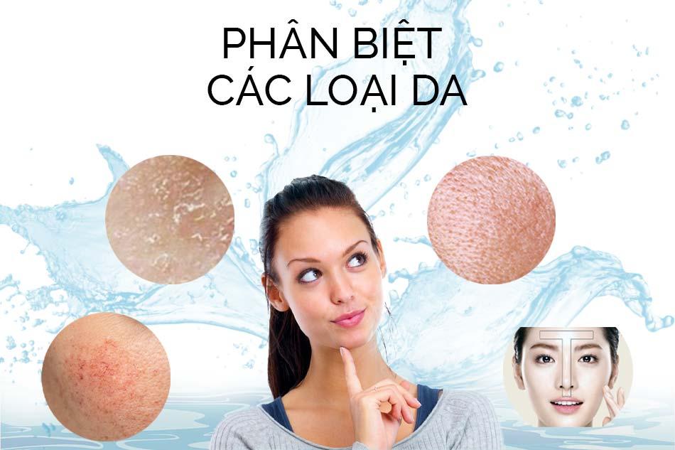 Cách phân biệt da dầu, da khô, da thường và da hỗn hợp. Cách chăm sóc cho từng loại da